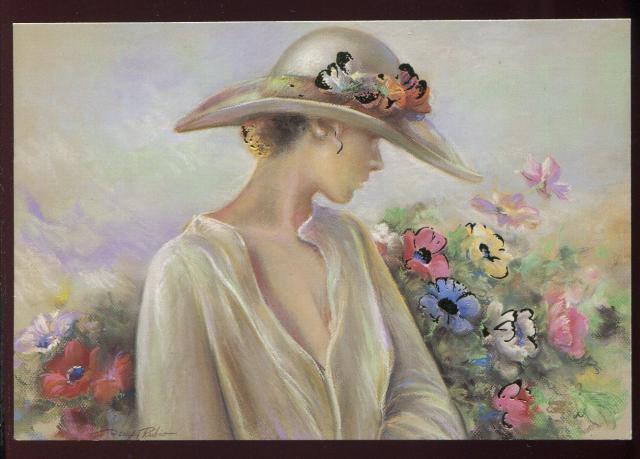 """Des élégantes  """"chapeautées"""" ... - Page 12 08667510"""