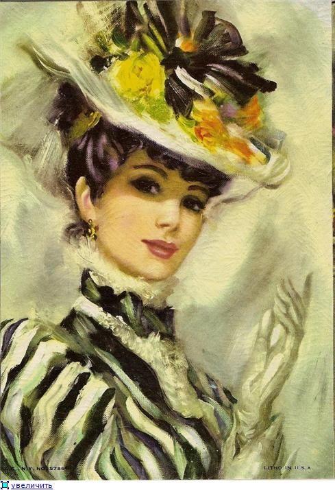 """Des élégantes  """"chapeautées"""" ... - Page 12 0a765d10"""