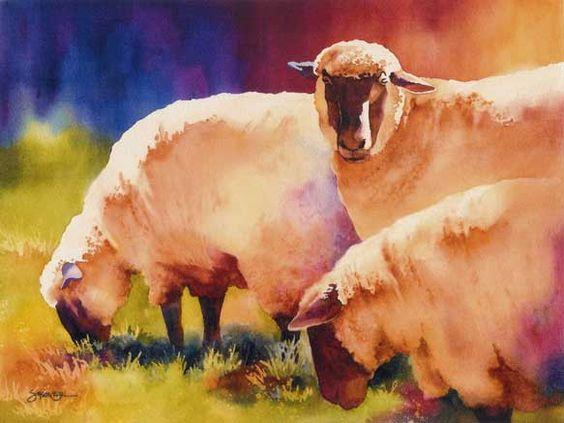 Les animaux peints à l'AQUARELLE 0e7eea10