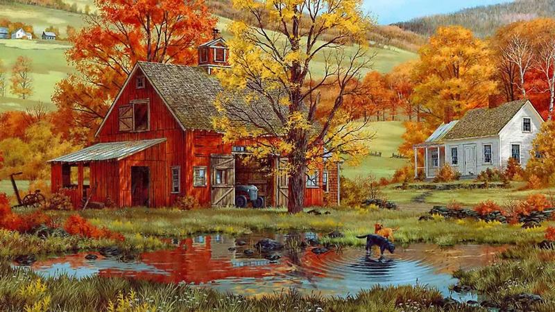 Tous les paysages en peinture. 12465510