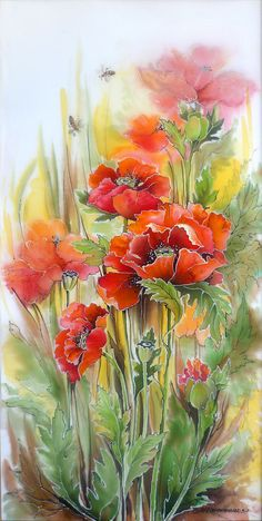 Les FLEURS  dans  L'ART - Page 43 1e324410