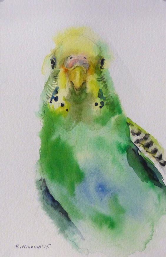 Les animaux peints à l'AQUARELLE - Page 4 29033c10