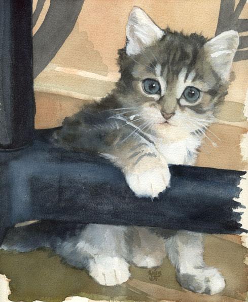 Les animaux peints à l'AQUARELLE 2f4e4810