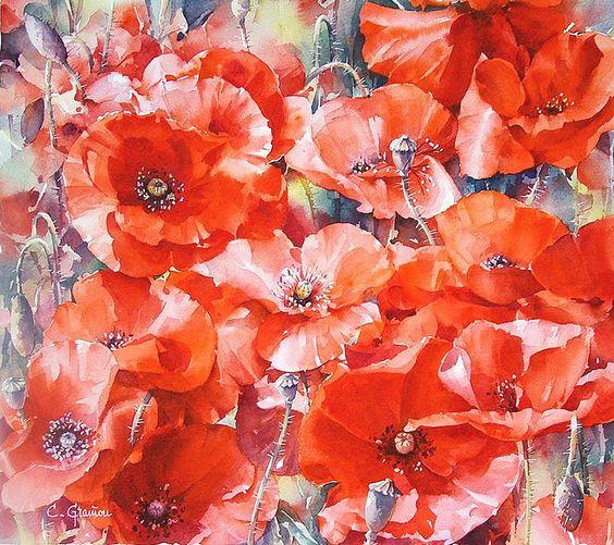 Les FLEURS  dans  L'ART - Page 43 32fd3110