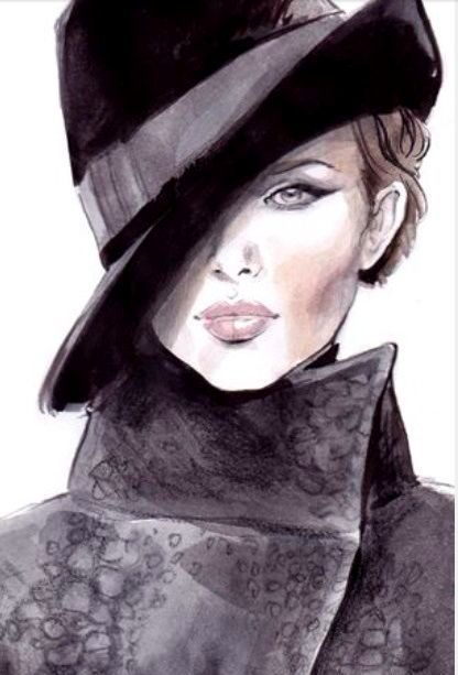 """Des élégantes  """"chapeautées"""" ... - Page 8 3a28fe10"""