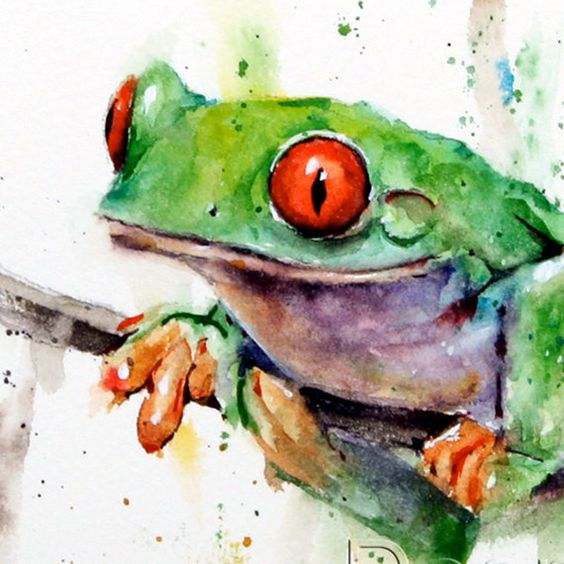 Les animaux peints à l'AQUARELLE - Page 4 4479b510