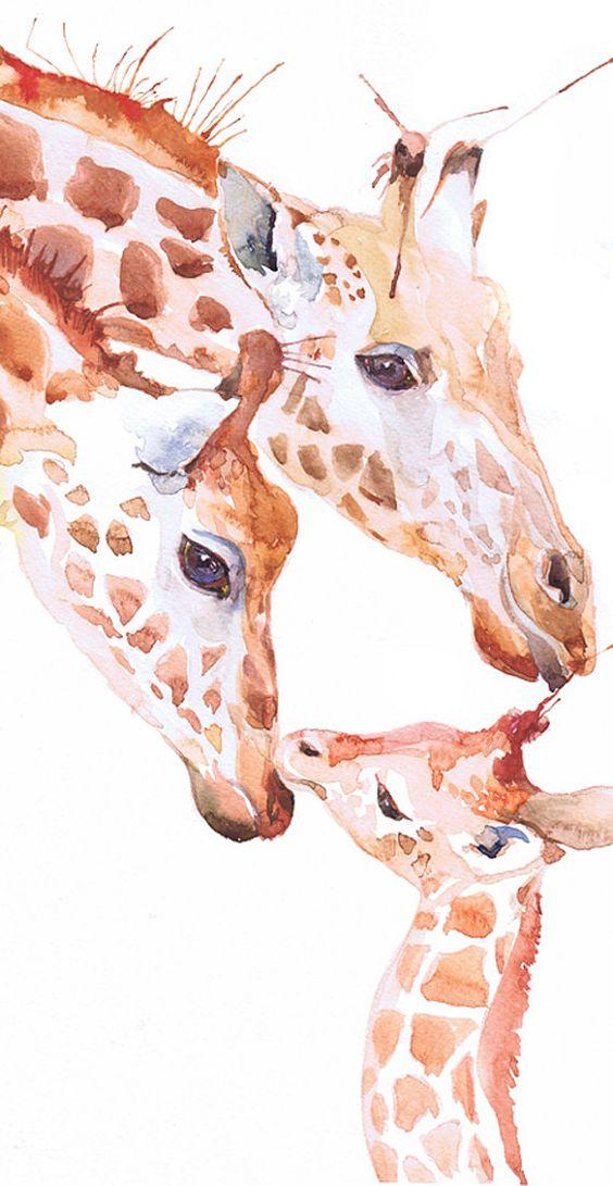 Les animaux peints à l'AQUARELLE 5f4fd710