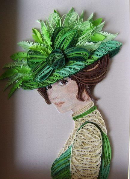 """Des élégantes  """"chapeautées"""" ... - Page 8 646d4a10"""