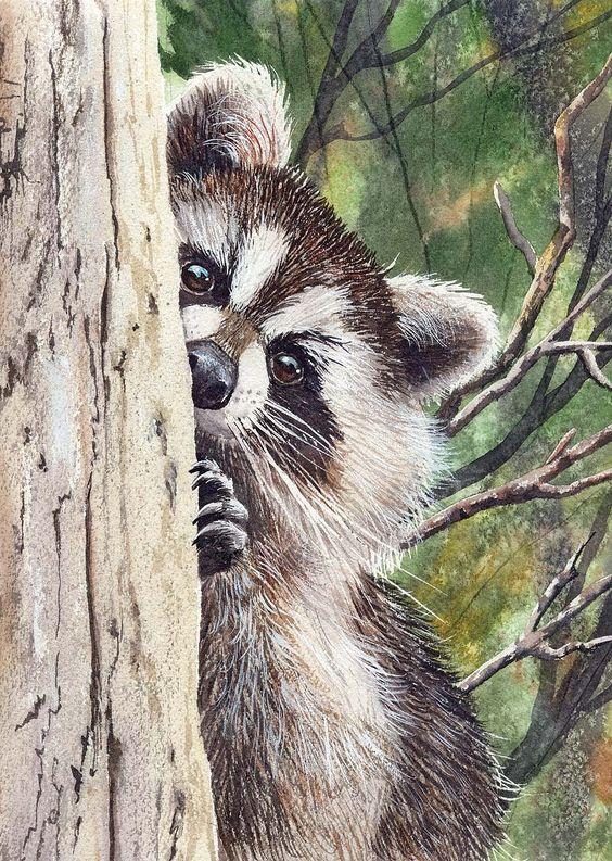 Les animaux peints à l'AQUARELLE - Page 4 725abb10