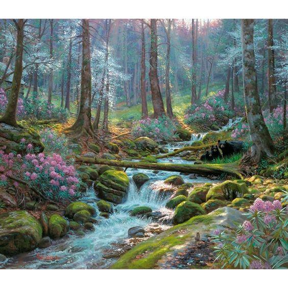 L'eau paisible des ruisseaux et petites rivières  - Page 6 775c7110