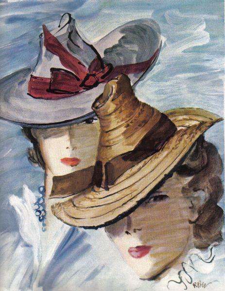 """Des élégantes  """"chapeautées"""" ... - Page 12 85ef8910"""