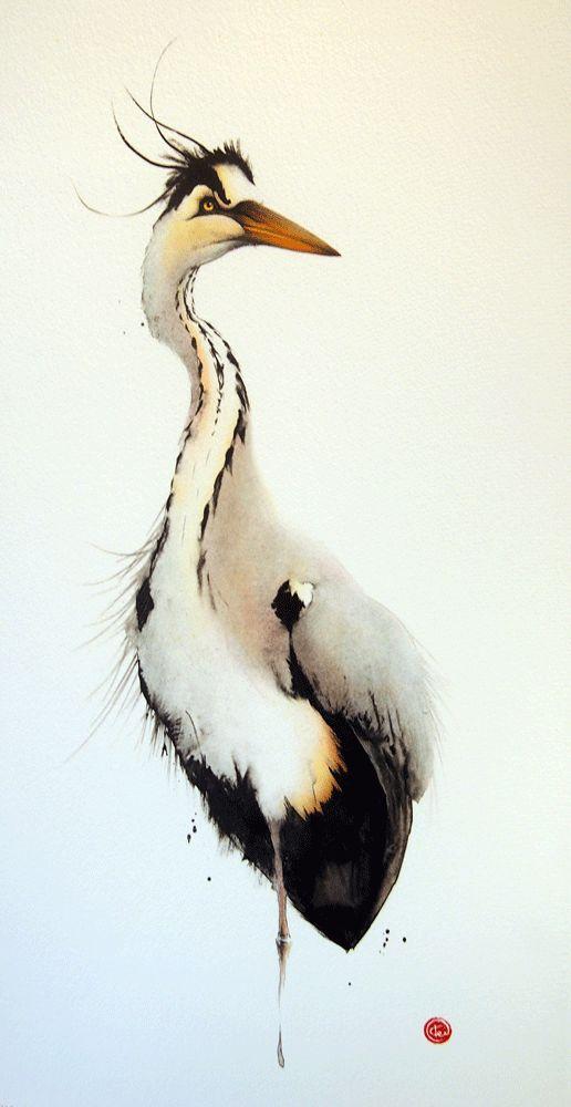 Les animaux peints à l'AQUARELLE - Page 2 908f8110