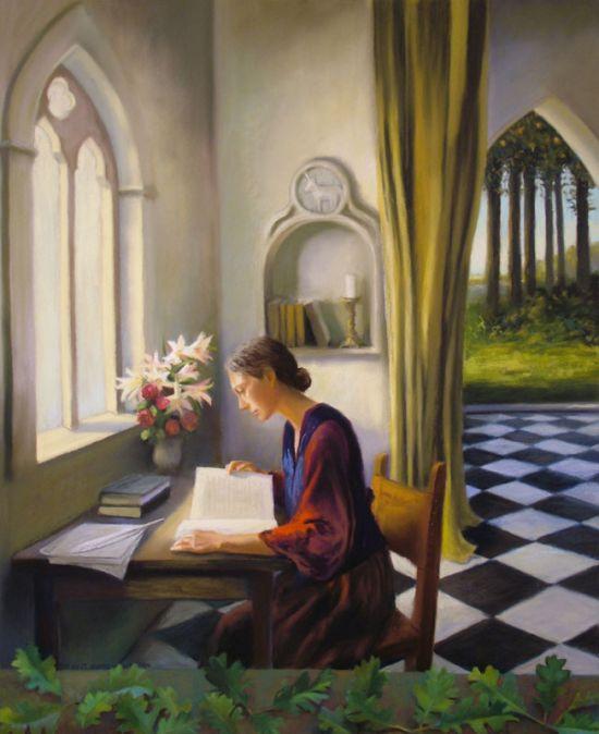 La lecture, une porte ouverte sur un monde enchanté (F.Mauriac) - Page 4 9eed1410