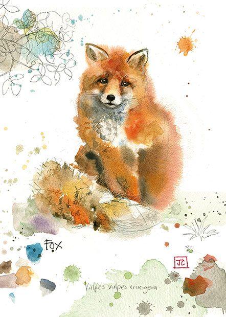 Les animaux peints à l'AQUARELLE - Page 3 A746a510