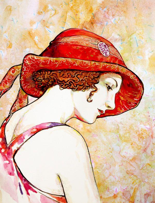 """Des élégantes  """"chapeautées"""" ... - Page 12 Ab6fa710"""