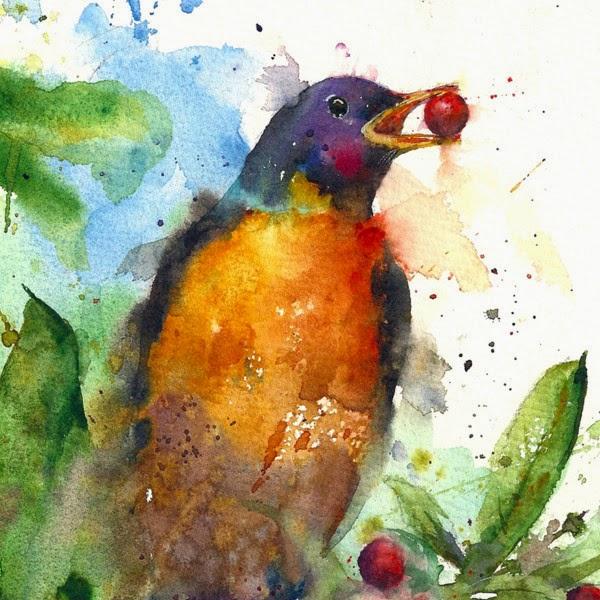 Les animaux peints à l'AQUARELLE - Page 4 Animau14
