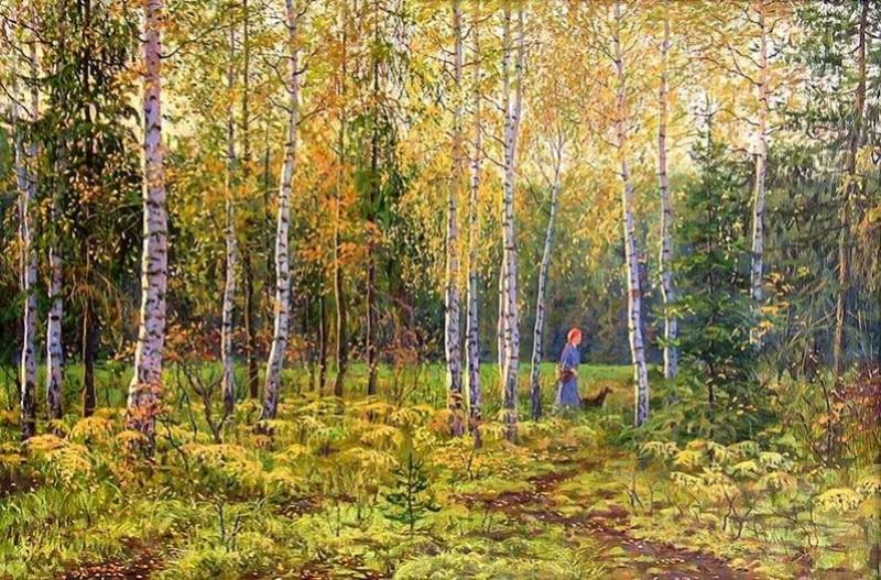 Tous les paysages en peinture. Automn10