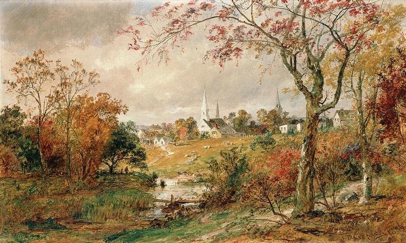 Tous les paysages en peinture. Autumn10