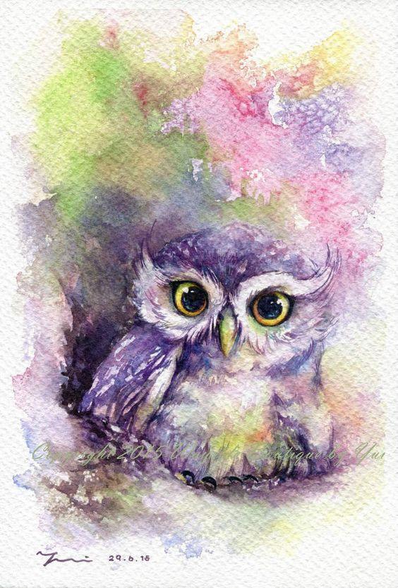 Les animaux peints à l'AQUARELLE - Page 2 Bf297d10