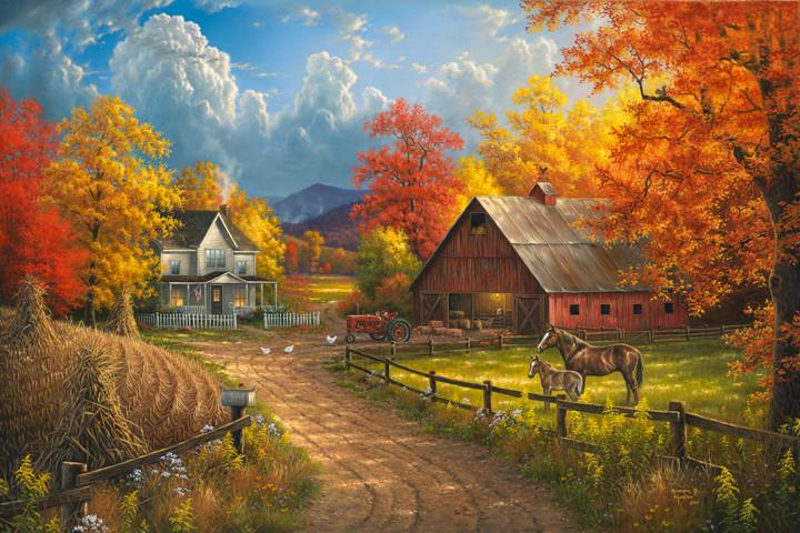 Tous les paysages en peinture. Countr10