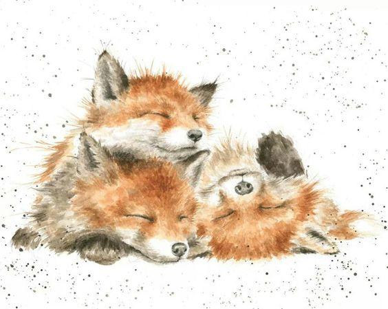 Les animaux peints à l'AQUARELLE Ee0afb10