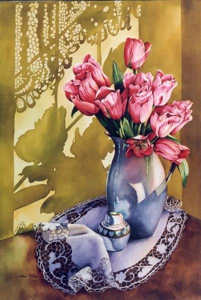 Les FLEURS  dans  L'ART - Page 41 Elise_10