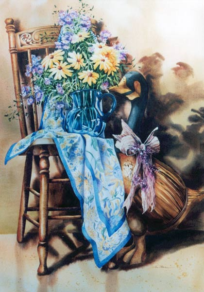 Les FLEURS  dans  L'ART - Page 42 Elise_12