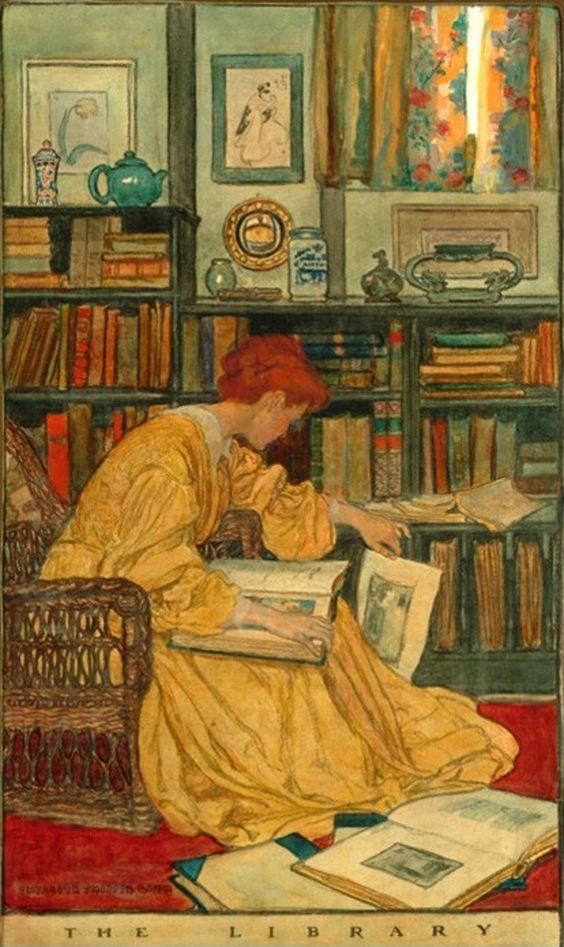 La lecture, une porte ouverte sur un monde enchanté (F.Mauriac) - Page 6 Elizbe11