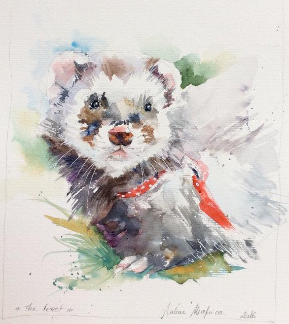 Les animaux peints à l'AQUARELLE - Page 2 Il_57016
