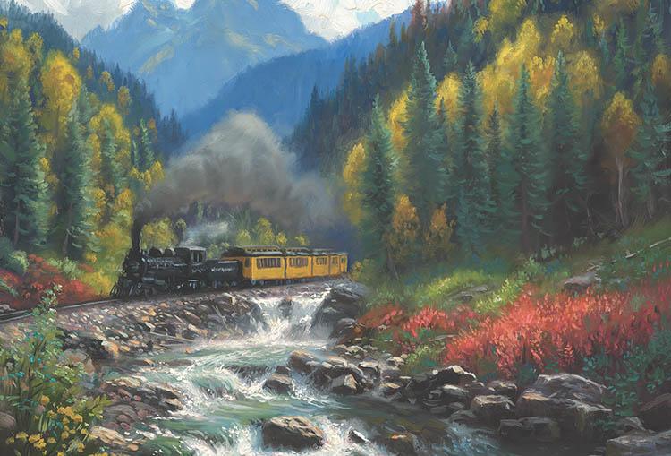 Tous les paysages en peinture. - Page 2 Iron-h10