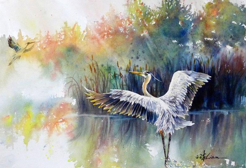 Les animaux peints à l'AQUARELLE Lian_q10