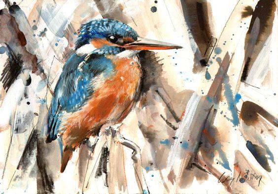 Les animaux peints à l'AQUARELLE Lucy_n14