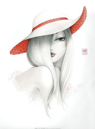 """Des élégantes  """"chapeautées"""" ... - Page 8 Mistig12"""