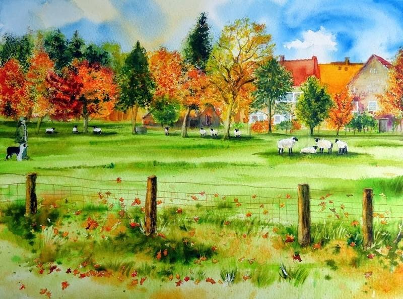 Tous les paysages en peinture. - Page 2 Mynste10