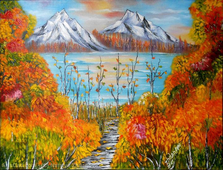 Tous les paysages en peinture. - Page 2 Nataly10