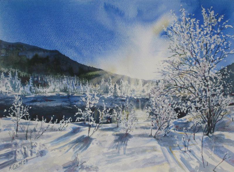 Tous les paysages en peinture. - Page 5 Paysag11