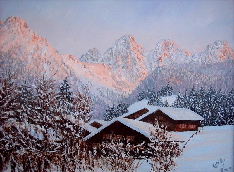 Tous les paysages en peinture. - Page 5 Peintu13