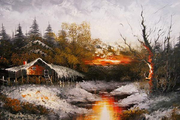 Tous les paysages en peinture. - Page 2 Scener10