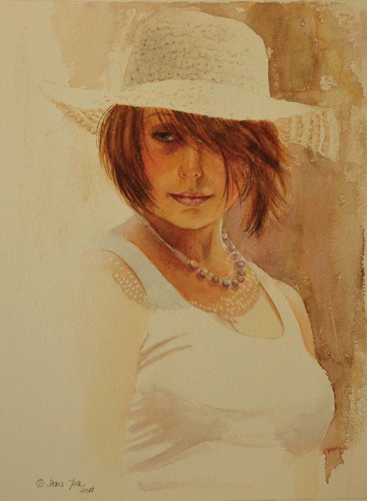 """Des élégantes  """"chapeautées"""" ... - Page 8 Summer10"""