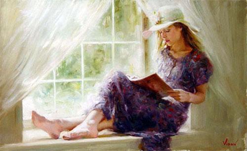 La lecture, une porte ouverte sur un monde enchanté (F.Mauriac) - Page 3 Vidan_10