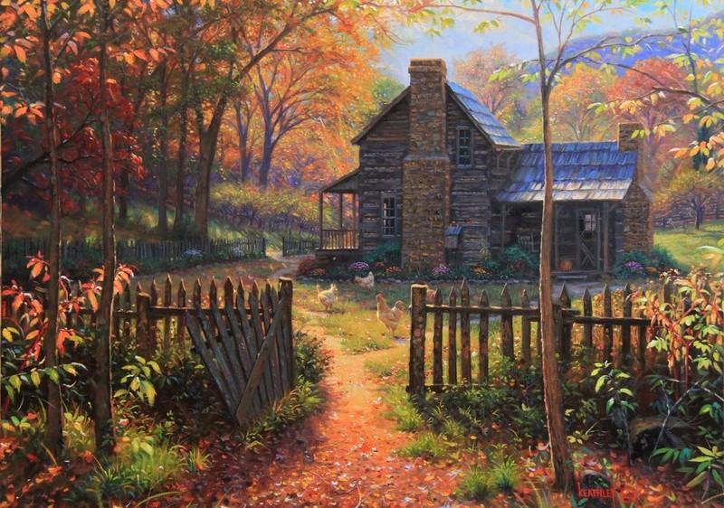 Tous les paysages en peinture. Welcom10