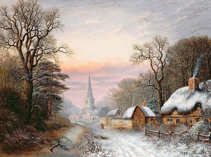 Tous les paysages en peinture. - Page 2 Winter13