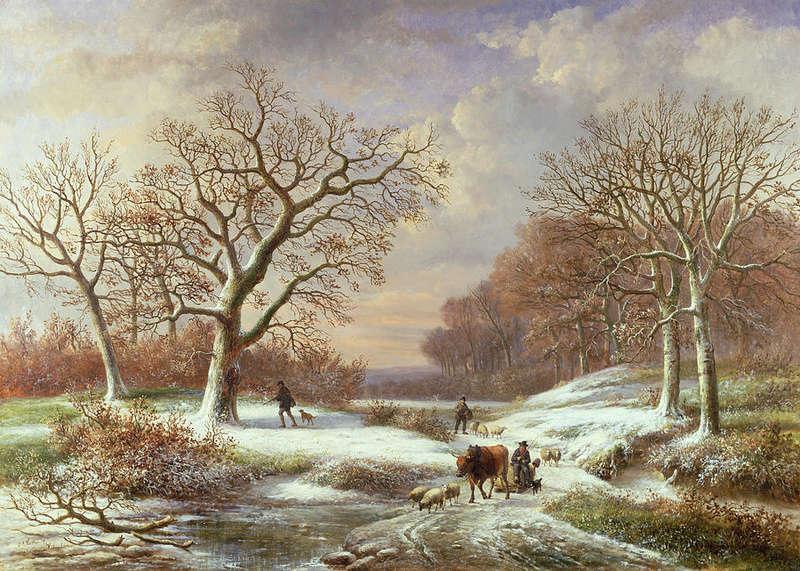 Tous les paysages en peinture. - Page 3 Winter19