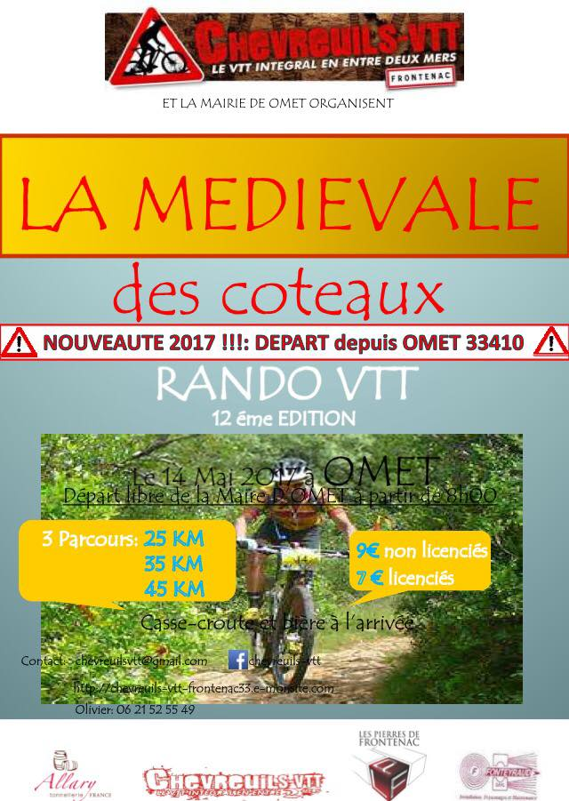 14 Mai 2017 - 12ème Médiévale des Coteaux - OMET (33) 15578810