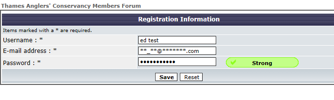 New users unable to register - Captcha not working Captur14