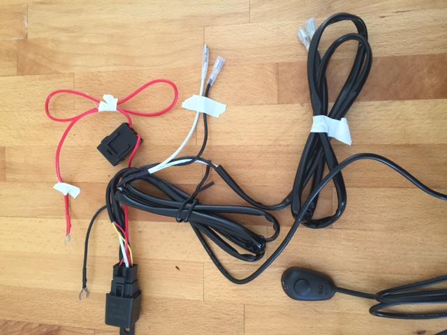 Branchements faisceau electrique led Img_0710