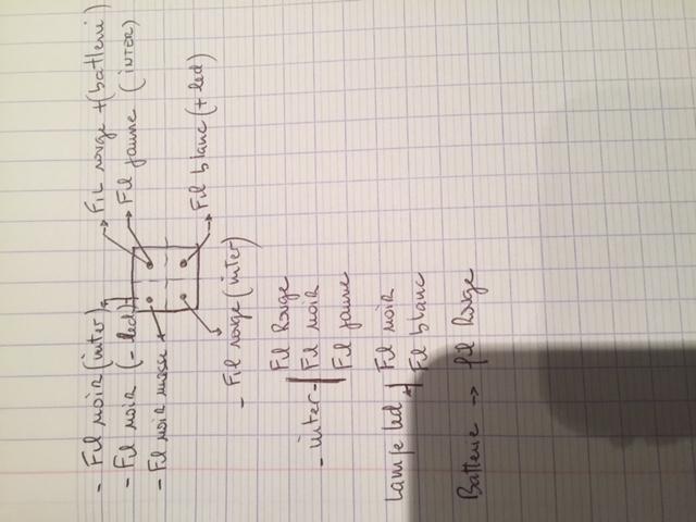 Branchements faisceau electrique led Img_0713