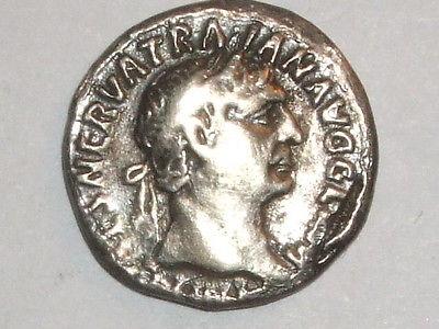 Denier d'argent Trajan _1-110