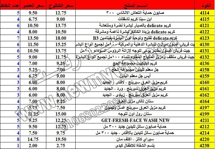 حصريا ::قائمة أسعار منتجات ماى واى في شهر ديسمبر 2016 .. بسعر الكتالوج .. بسعر العضويه .. وعدد النقاط 12_o13