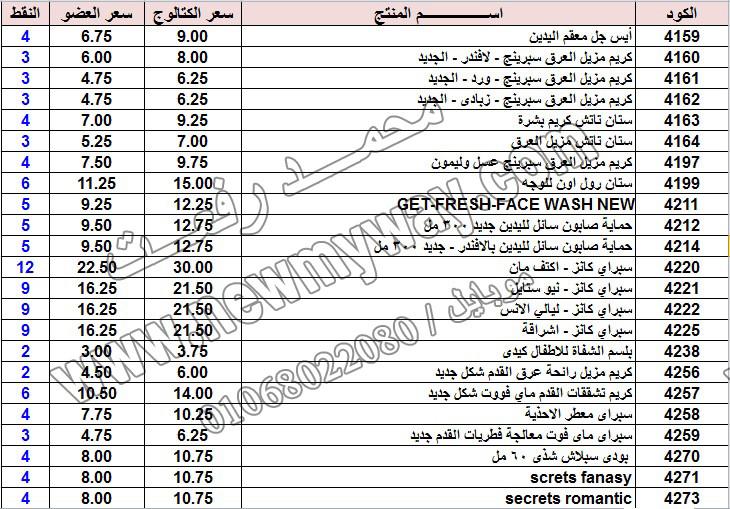 حصريا ::قائمة أسعار منتجات ماى واى في شهر يناير 2017 .. بسعر الكتالوج .. بسعر العضويه .. وعدد النقاط  12_o16